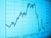 Business analyzing graph — Stock Photo