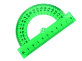 Measurement instrument-protractor — Stock Photo