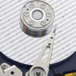 Hard disk from within. - Stock Photo