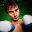 Blow of the boxer — Stock Photo