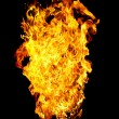 Fire photo on a black background — Stock Photo #1189377