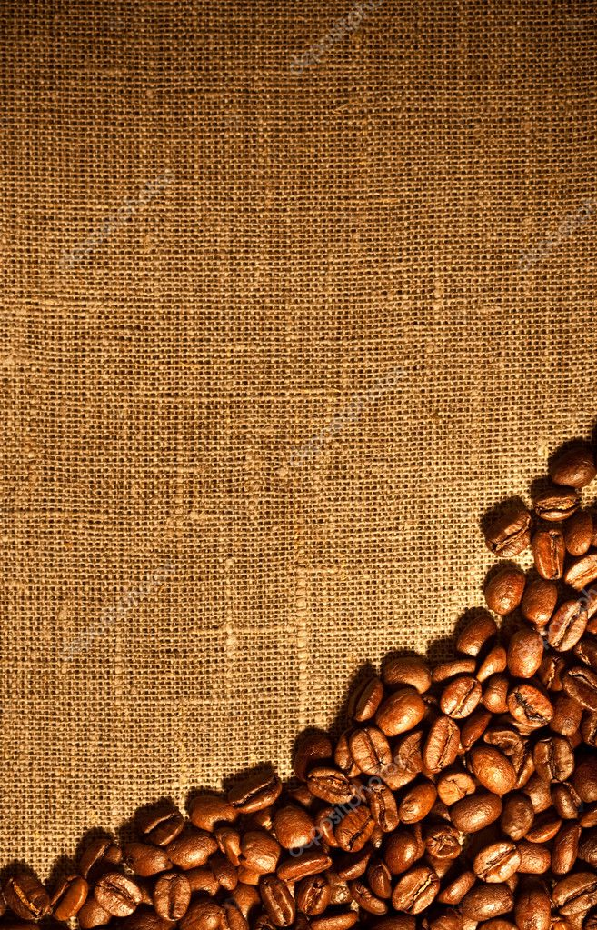 Coffee beans background image... — Stock Photo #1188988