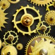 Mechanism from old gears — Stock Photo