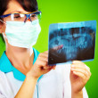 Doctor with xray — Stock Photo #1190690