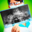 Doctor with xray — Stock Photo #1190742