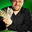 Man with money in hands - Photo