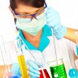 Scientist in laboratory — Stock Photo #1203436