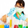 Scientist in laboratory — Foto de Stock
