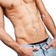 Muscular male torso — Stock Photo #1204391