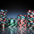Gambling chips — Stock Photo #1204891
