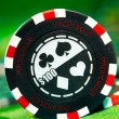 Gambling chips — Stock Photo