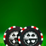 Gambling chips — Stock Photo