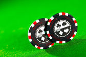 Gambling chips — Stock fotografie