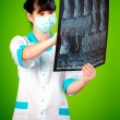 Doctor with xray — Stock Photo #1277641