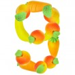Alphabet from fruit, the number 9 — Stock Photo