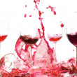 Glasswine. Broken. - Stock Photo