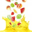 Foto de Stock  : Fruit juice