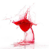 Glasswine. Broken. — Stock Photo