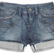 Stock Photo: Jeans shorts