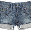Jeans shorts — Stock Photo
