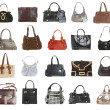 20 handbags - Stock Photo