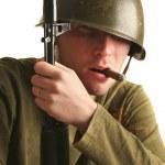 Military man — Stock Photo #1322423