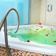 Bath of a jacuzzi - Stock Photo