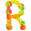 Alphabet from fruit, the letter R — Stock Photo #1326780