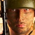 Soldat — Stockfoto