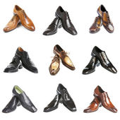 Nine pairs man — Stock Photo