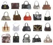 20 handbags — Stock Photo