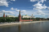 Moscow the Kremlin — Stock Photo