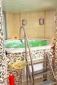 Bañera de jacuzzi — Foto de Stock