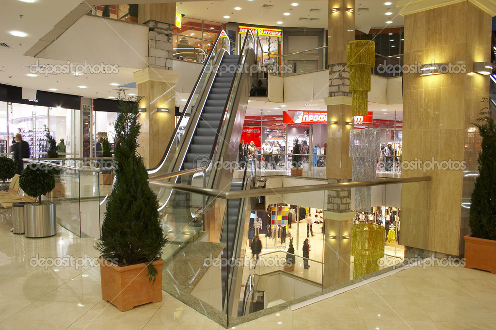 The big shopping center for family purchases and gifts.  Stock Photo #1323854