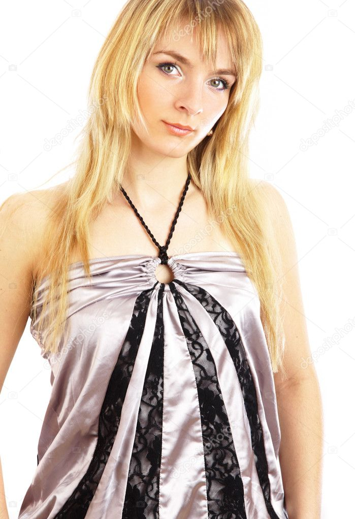 Portrait of the beautiful girl...  Stock Photo #1330045