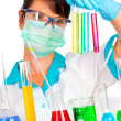 Scientist in laboratory — Stock Photo #1526546