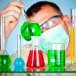 Young scientist — Stock Photo #1526560
