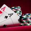 Two Aces — Foto de Stock