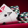 Two Aces — Stockfoto