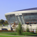 New football stadium — Stock Photo #1142318