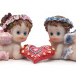 Stock Photo: Souvenir of St. Valentine