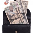 Stock Photo: Purse with money