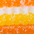 Fruit jelly background — Stock Photo