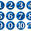 Stock Photo: Numbers set