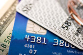 Credit cards — Stockfoto