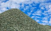 Pile of broken stone — Stock Photo