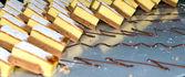 Tortas en placa — Foto de Stock