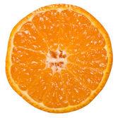 Tangerine slice — Stock Photo
