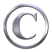 Copyright sign — Stock Photo