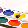 Stock Photo: Water paints set